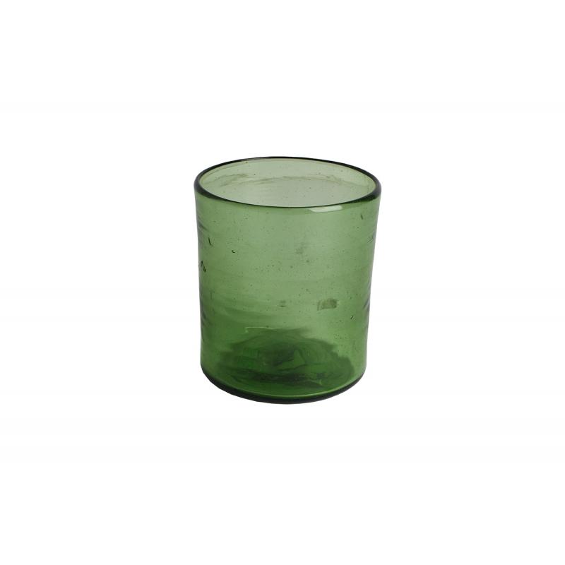 Ailleurs Paris Verre à eau vert