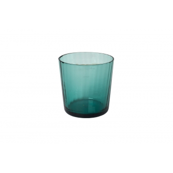 Murano glass pleated baltic small