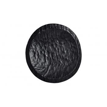Ailleurs Paris Grand plat en bois noirci