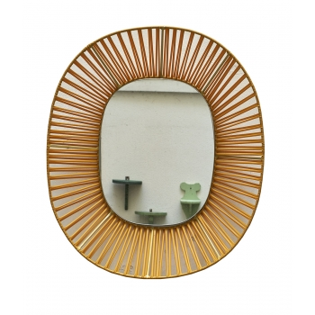 Miroir cesta yellow