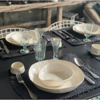 Assiette bol blanc L