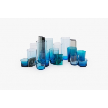 14 polygon glassware set