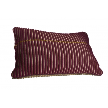 Chumbes pillow lila/gold
