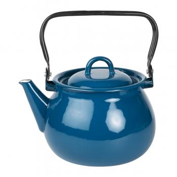 Bouilloire émail bleu
