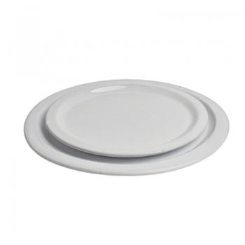 Assiette en terre cuite vernissée 25 cm