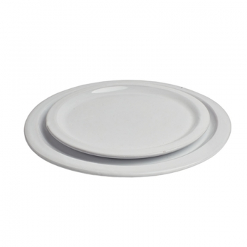 Assiette en terre cuite vernissée 19 cm
