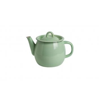 Celadon enamel teapot