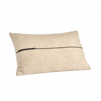 Coussin  ortie blackline 40x60