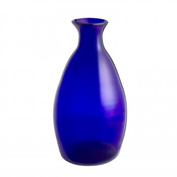 Vase haut bleu