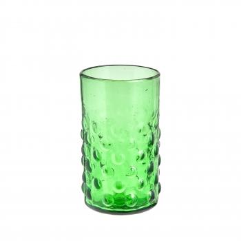 Verre bulle vert