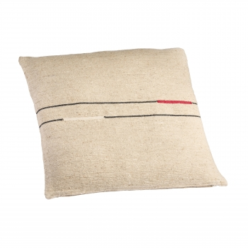 Coussin sema double ligne red