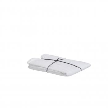 Taie coton blanc 65x65