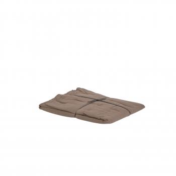 Taie coton brownie 65x65