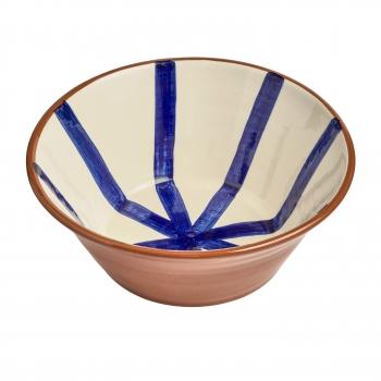 Saladier segment bleu