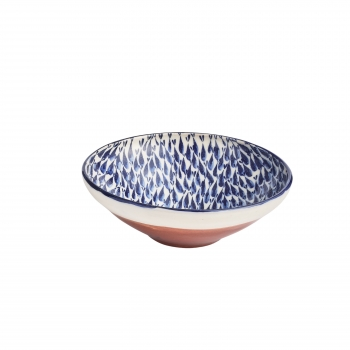 Coupelle faience rouge
