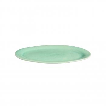 Plat oval gres pm celadon