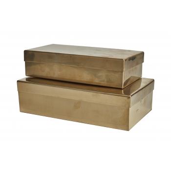 Boîte rectangulaire laiton L