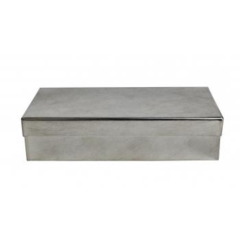 Ailleurs Paris Boîte rectangulaire fer blanc L